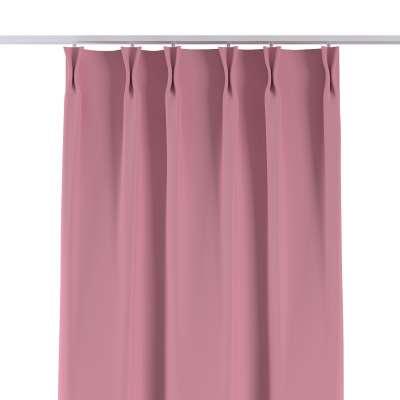 Vorhang mit flämischen Falten 269-92 rosa Kollektion Blackout (verdunkelnd)
