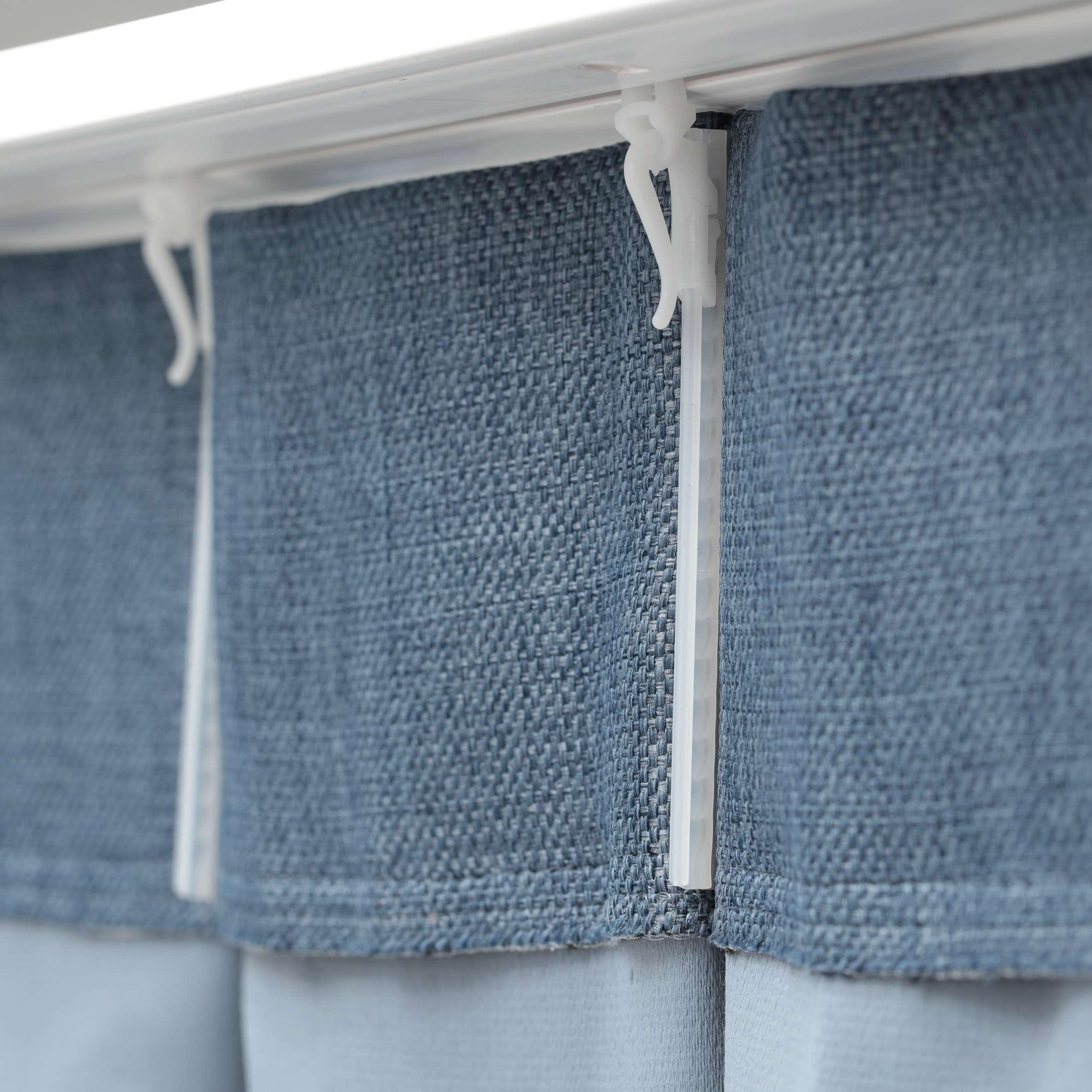 Zasłona na haczykach flex w kolekcji Blackout - zaciemniające, tkanina: 269-92