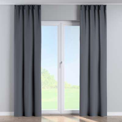 Curtian with pinch pleat 269-76 dark grey Collection Blackout