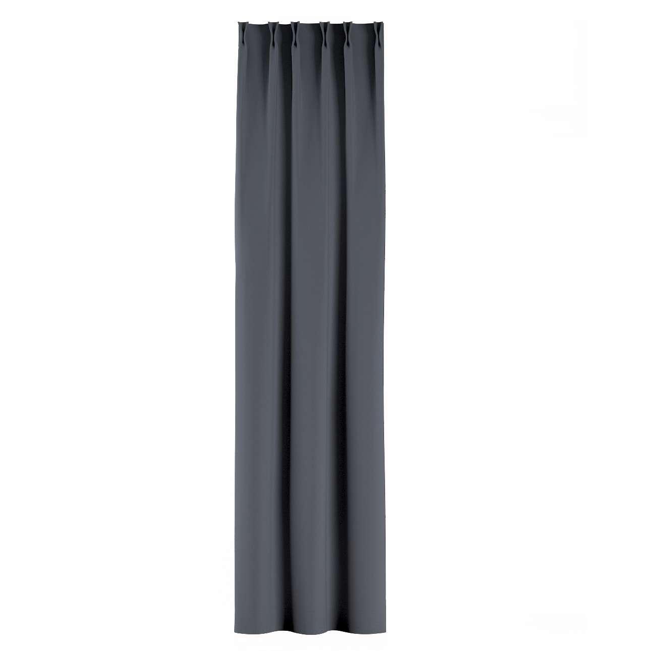 Záves so systémom FLEX V kolekcii Blackout - zatemňujúca, tkanina: 269-76