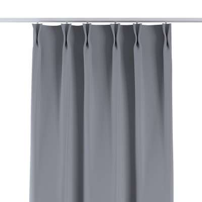 Curtian with pinch pleat 269-96 light grey Collection Blackout