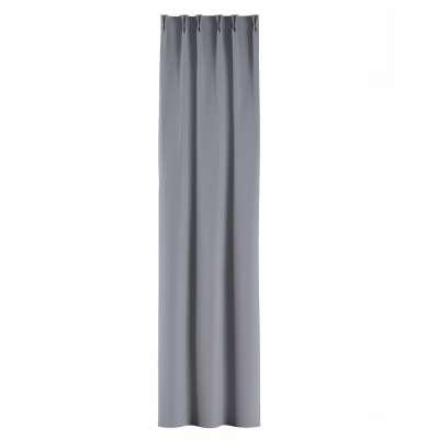 Zasłona na haczykach flex w kolekcji Blackout - zaciemniające, tkanina: 269-96