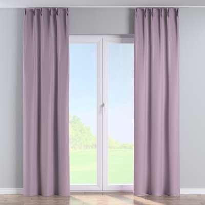 Vorhang mit flämischen Falten 269-60 violett Kollektion Blackout (verdunkelnd)