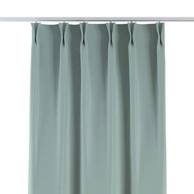 Vorhang mit flämischen Falten 269-61 mintgrün Kollektion Blackout (verdunkelnd)