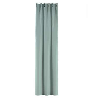 Zasłona na haczykach flex w kolekcji Blackout - zaciemniające, tkanina: 269-61