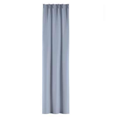 Vorhang mit flämischen Falten von der Kollektion Blackout (verdunkelnd), Stoff: 269-62