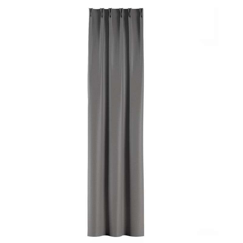 Zasłona na haczykach flex w kolekcji Blackout - zaciemniające, tkanina: 269-63