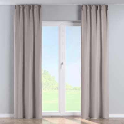 Curtian with pinch pleat 269-64 light grey Collection Blackout