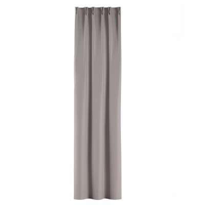 Zasłona na haczykach flex w kolekcji Blackout - zaciemniające, tkanina: 269-64