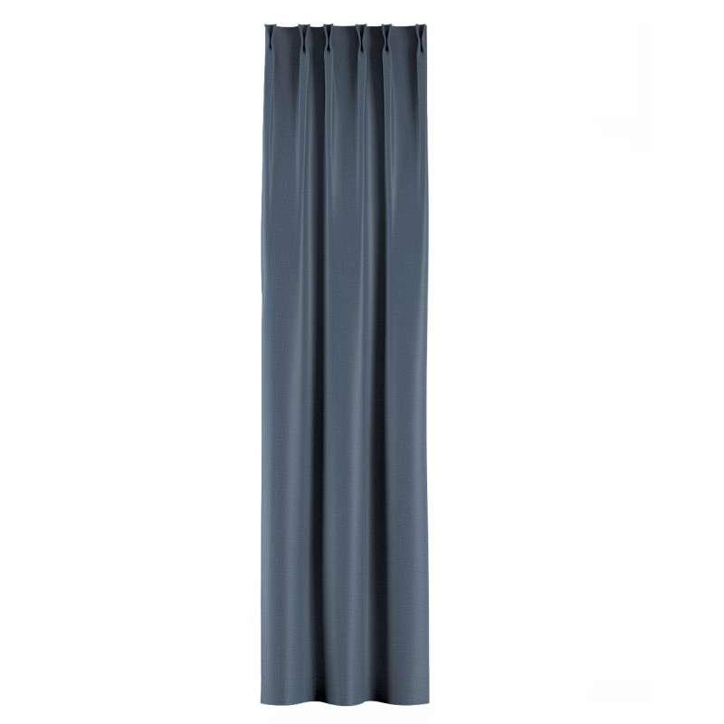 Zasłona na haczykach flex w kolekcji Blackout - zaciemniające, tkanina: 269-67