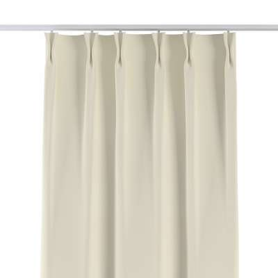 Curtian with pinch pleat 704-10 creamy white Collection Velvet