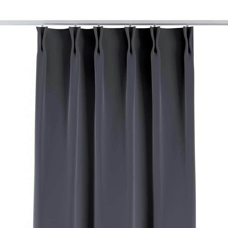 Zasłona na haczykach flex w kolekcji Velvet, tkanina: 704-12