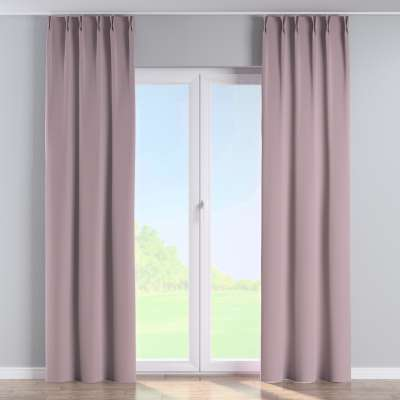 Curtian with pinch pleat 704-14 dusty pink Collection Velvet