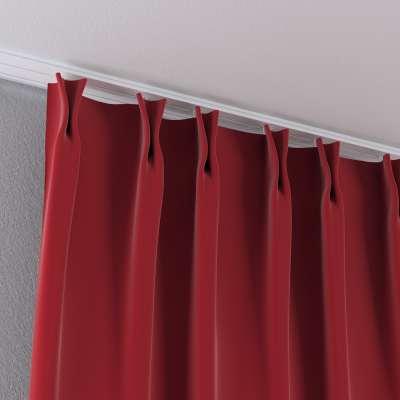 Zasłona na haczykach flex w kolekcji Velvet, tkanina: 704-15