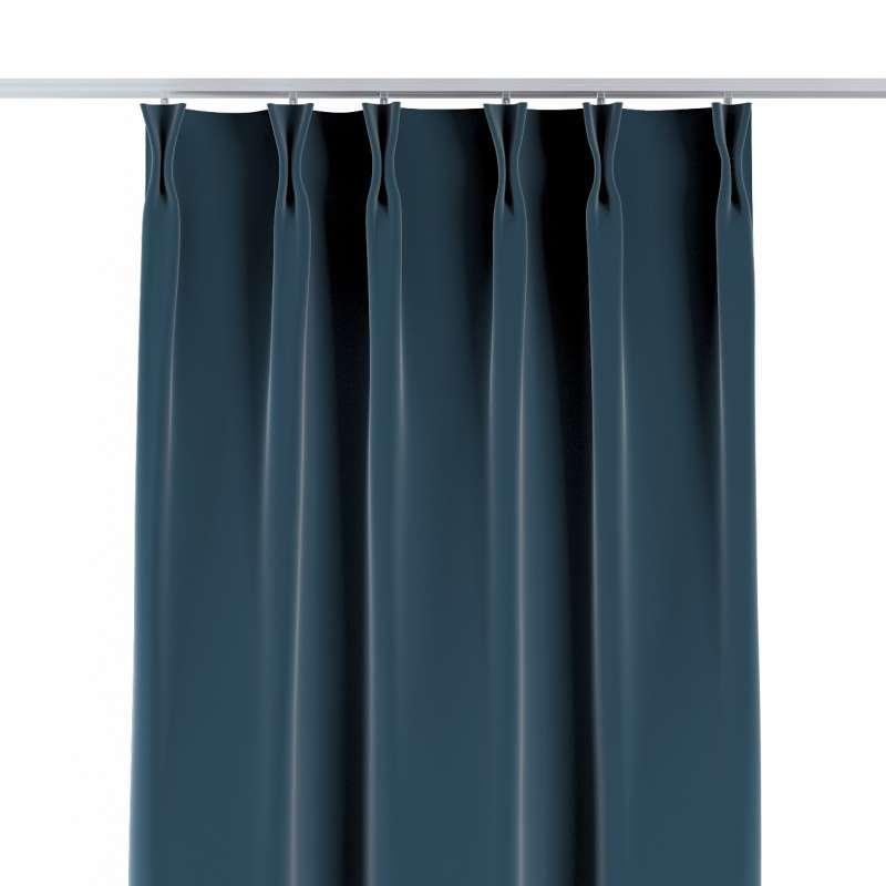 Vorhang mit flämischen Falten von der Kollektion Velvet, Stoff: 704-16
