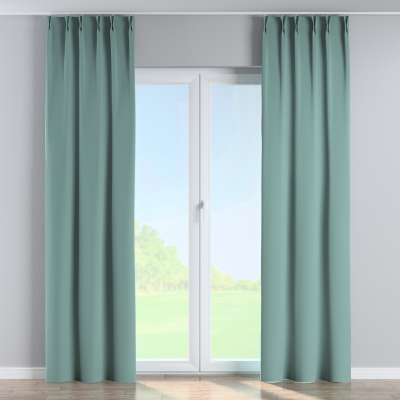 Curtian with pinch pleat 704-18 dusty mint green Collection Velvet