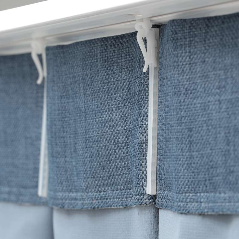 Zasłona na haczykach flex w kolekcji Blackout - zaciemniające, tkanina: 269-68