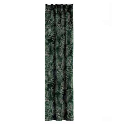 Gordijn met vlaamse plooi van de collectie Velvet, Stof: 704-21