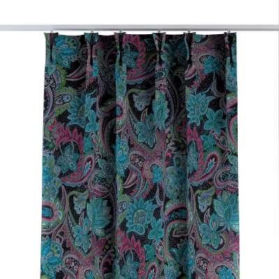 Závěs na hačcích flex 704-22 multikolor - východní ornamenty Kolekce Velvet