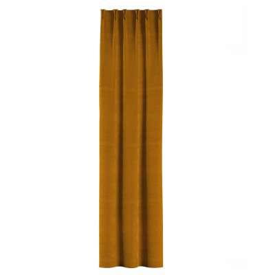 Gordijn met vlaamse plooi van de collectie Velvet, Stof: 704-23