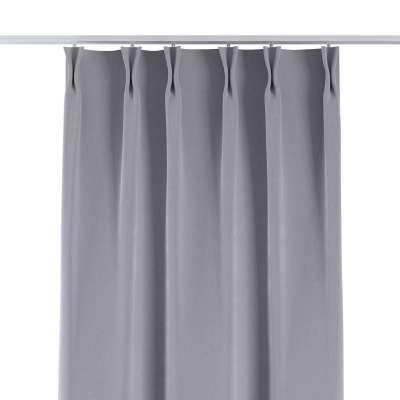Závěs na hačcích flex 704-24 stříbro-šedá Kolekce Velvet