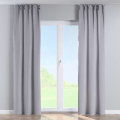 Curtian with pinch pleat 704-24 grey Collection Velvet