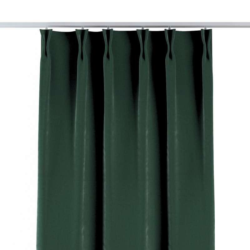 Gordijn met vlaamse plooi van de collectie Velvet, Stof: 704-25