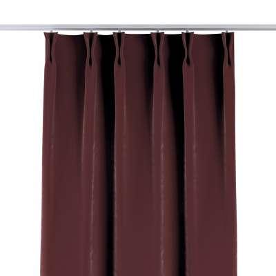 Gardin med fast brett 704-26 Bordeaux Kolleksjon Velvet