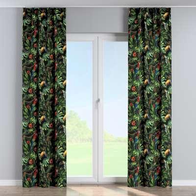 Vorhang mit flämischen Falten von der Kollektion Velvet, Stoff: 704-28