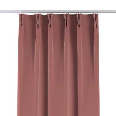 Závěs na hačcích flex 704-30 korálová růžová Kolekce Velvet