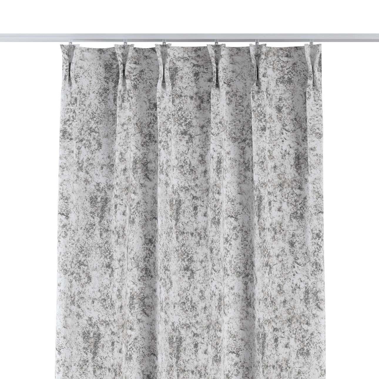 Zasłona na haczykach flex w kolekcji Velvet, tkanina: 704-49
