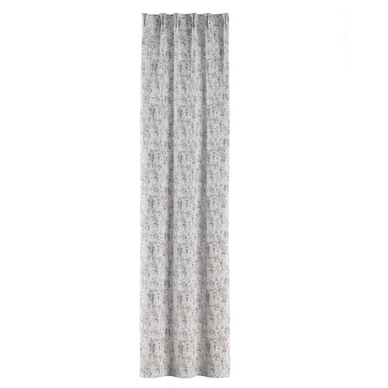 Gordijn met vlaamse plooi van de collectie Velvet, Stof: 704-49