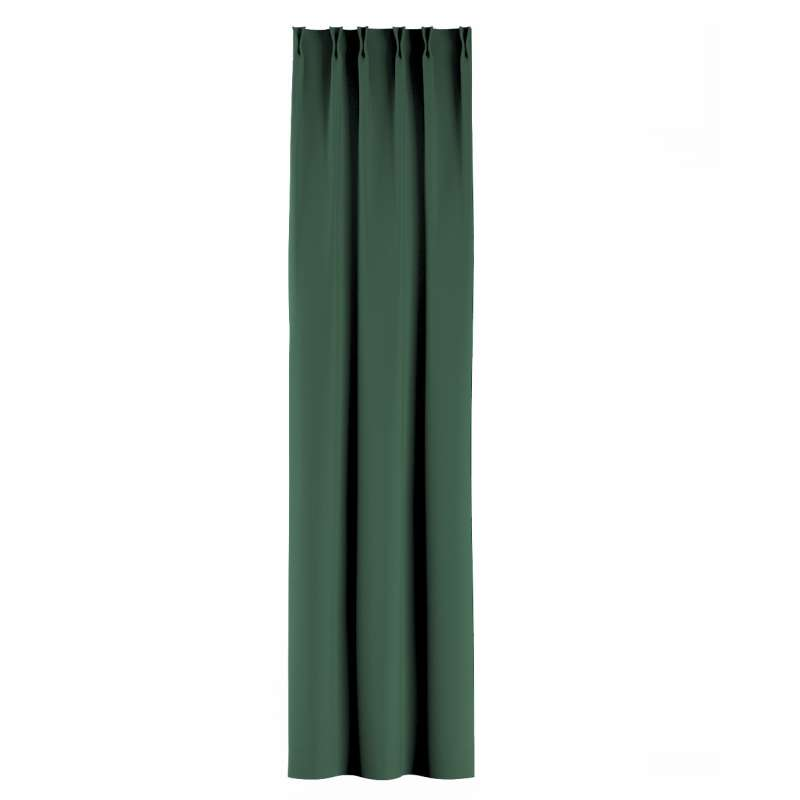 Zasłona na haczykach flex w kolekcji Blackout - zaciemniające, tkanina: 269-18