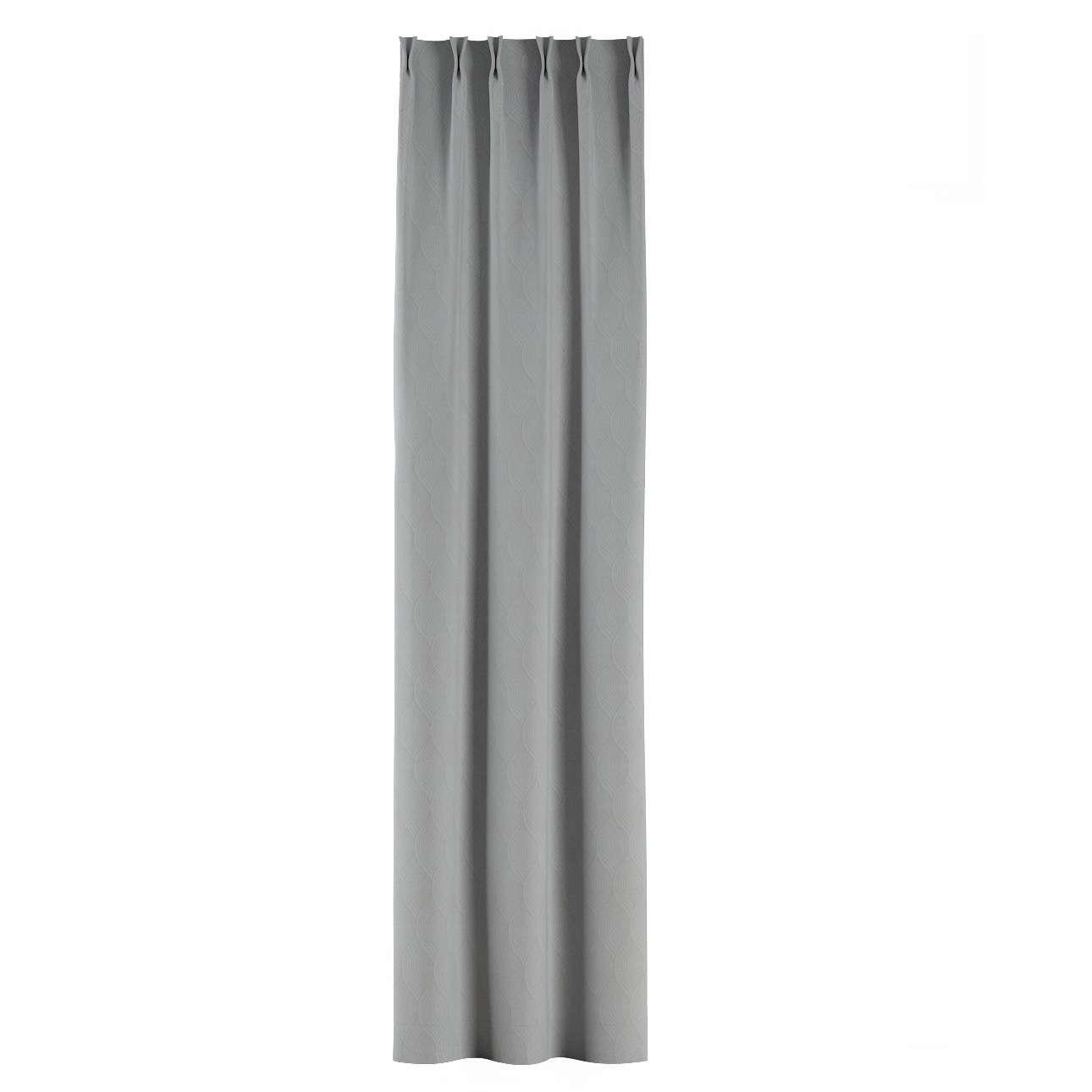Zasłona na haczykach flex w kolekcji Blackout - zaciemniające, tkanina: 269-19