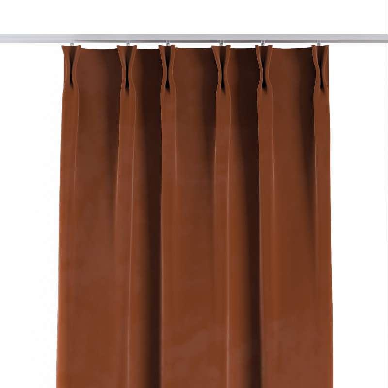 Záves so systémom FLEX V kolekcii Velvet, tkanina: 704-33