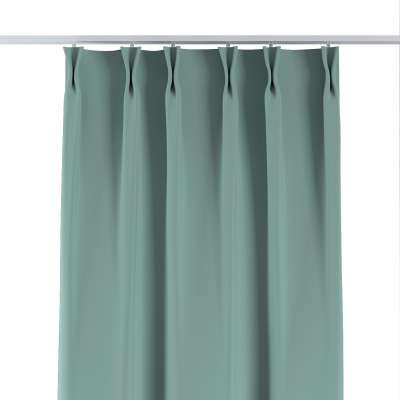 Curtian with pinch pleat 269-09 mint Collection Blackout 280 cm