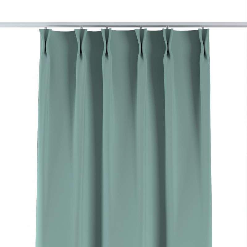 Vorhang mit flämischen Falten von der Kollektion Blackout 280 cm, Stoff: 269-09