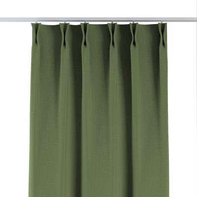 Zasłona na haczykach flex 269-15 zielony strukturalny Kolekcja Blackout 280cm