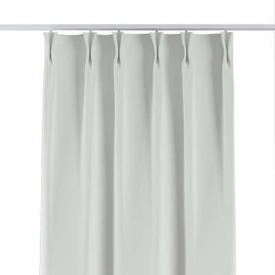 Curtian with pinch pleat 269-10 white Collection Blackout 280 cm