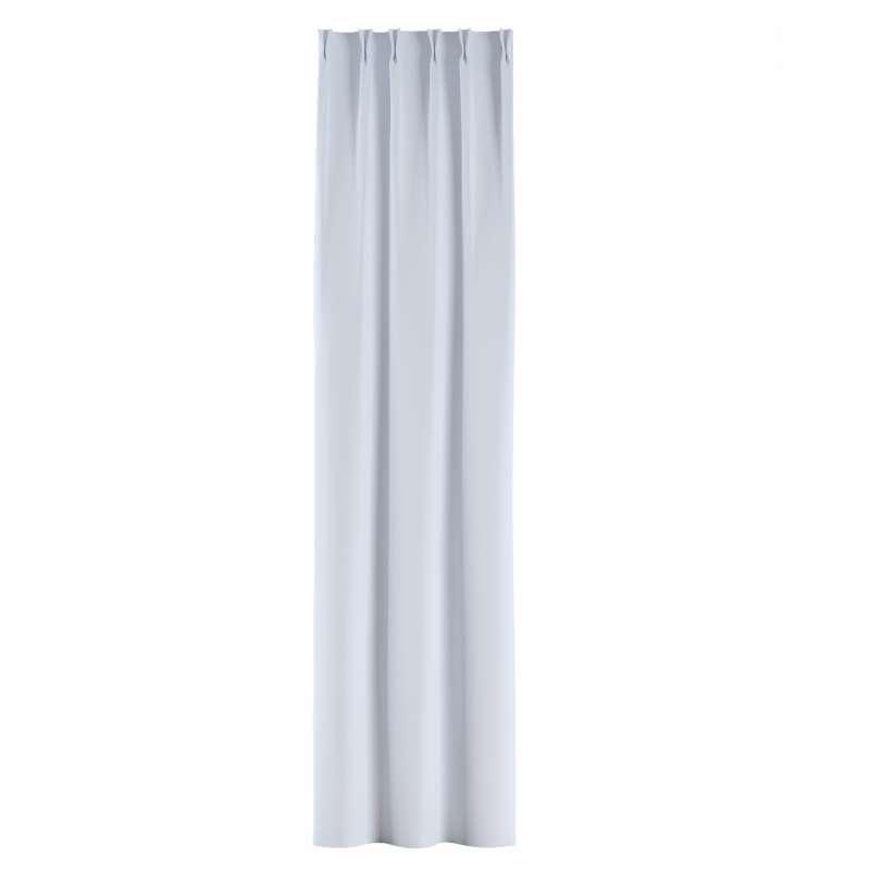 Zasłona na haczykach flex w kolekcji Blackout - zaciemniające, tkanina: 269-01