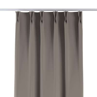 Curtian with pinch pleat 269-81 light brown Collection Blackout