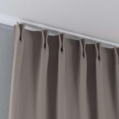 Zasłona na haczykach flex w kolekcji Blackout - zaciemniające, tkanina: 269-81