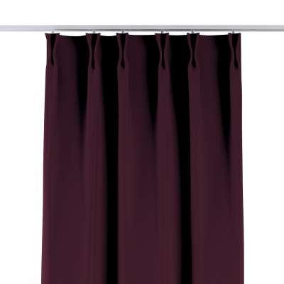 Závěs na hačcích flex 269-53 purpurová Kolekce Blackout