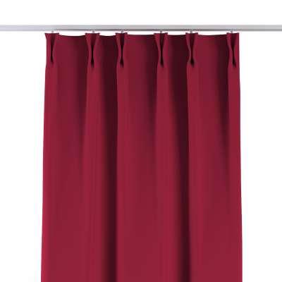Vorhang mit flämischen Falten 269-51 burgund Kollektion Blackout (verdunkelnd)