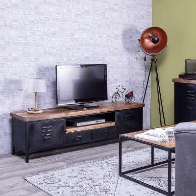 TV-Board 180x40,5x50,5cm Mediamöbel - Dekoria.de