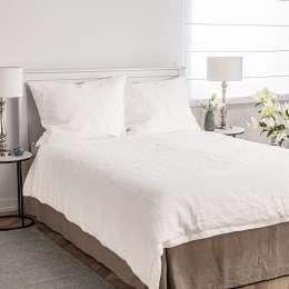 Bettwäscheset Linen 160x200cm white
