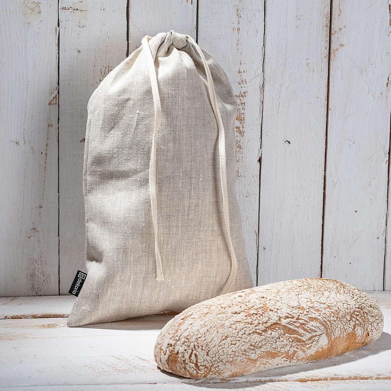 Worek kuchenny w kolekcji Linen, tkanina: 392-05