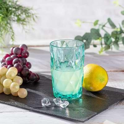 Szklanka Basic Turquoise 350ml