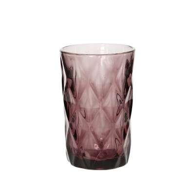 Glas Basic Pink 300ml Gläser - Dekoria.de