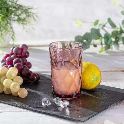 Szklanka Basic Pink 350ml